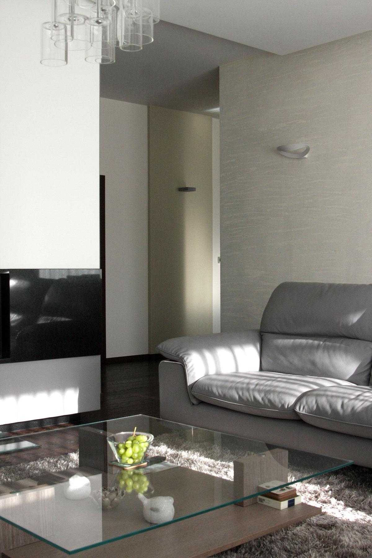 Projekt wnętrz domu jednorodzinnego – Bielsko-Biała
