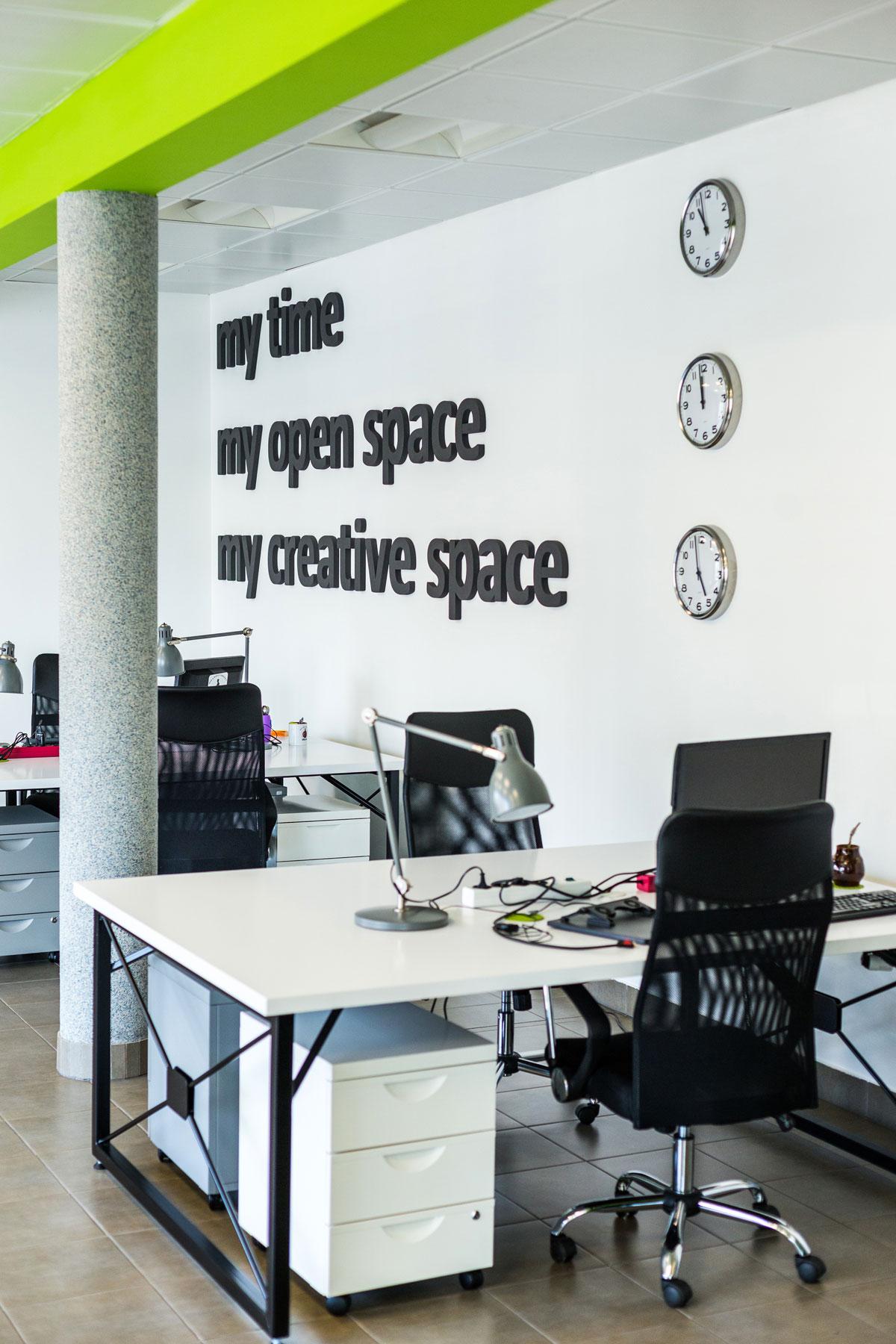 Projekt biura OPEN SPACE – Bielsko-Biała